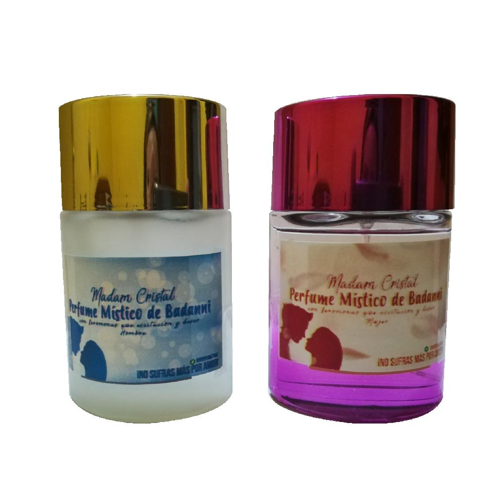 Perfume místico de Badanni con feromonas